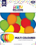 PARTY BALLOONS MIXED 50 PACK (23040-MC)