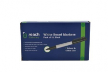 WHITEBOARD MARKERS 12PK LARGE (WB-6139)