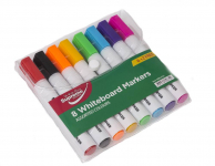WHITEBOARD MARKERS 8PK LARGE (WB8-8742)