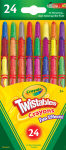 CRAYOLA TWISTABLES MINI 24PK (529824)