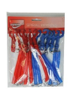 KEY RINGS SPIRAL 12PK (KR-8733)