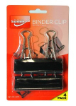 BINDER CLIP BLACK 41MM 4PK (BC-8467)