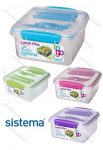 SISTEMA LUNCH PLUS WITH CUTLERY (21652)