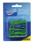 PAPERCLIP METALLIC COLOUR 50MM (PC-3725)