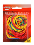RUBBER BANDS CARDED 38MM 100PK (RB-233)