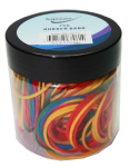 RUBBER BAND JAR 75G (RB-0614)