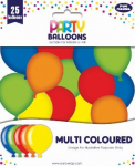 PARTY BALLOONS MIXED 25 PACK (12924-M-1)