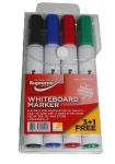 WHITEBOARD MARKERS 4PK LARGE (WB-2418)